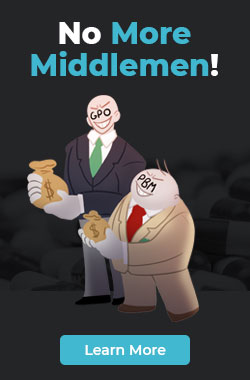 No More Middlemen!